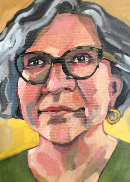 A portrait of Andrea Danehower
