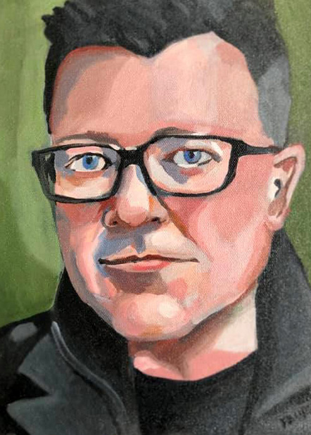 A portrait of Josh Leake